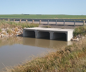 concrete box culvert