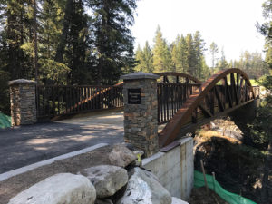 Crowsnest pass golf course bridge